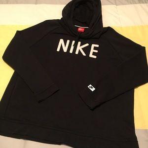 Women's Nike Cowl Neck Hoodie Size XL